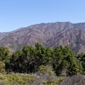 Panoramic view of the Santa Lucia Mountains. - Buzzard's Roost Trail