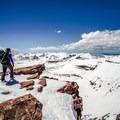 Summit of Kings Peak.- Kings Peak Backcountry Skiing