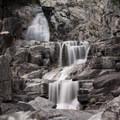 Long exposure of the upper cascades.- Canyon Creek Falls