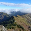 Just before heading back on the ridge.- Silver Star Mountain via the Bluff Mountain Trail