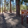 The campground contains a group site that must be reserved in advance.- Boca Spring Campground