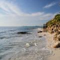 The beachfront homes on Point O' Rocks.- Point O' Rocks