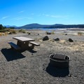 Water levels in adjacent Boca Reservoir vary by season and weather conditions.- Boca Rest Campground