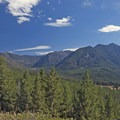 Views to the southeast.- Hood Creek