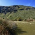 Yakima River at the beginning of the trail.- Umtanum Ridge Crest Trail