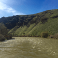 Yakima River along the Umtanum Recreation Area.- Umtanum Ridge Crest Trail