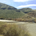 Umtanum suspension bridge.- Umtanum Ridge Crest Trail
