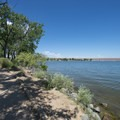 West Shades Day Use Area, Cherry Creek State Park.- West Shades Swim Beach + Day Use Area