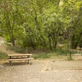 The best spots are nestled at the eastern corner of the basin, away from the restrooms.- East Portal Campground