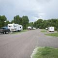 Cherry Creek State Park Campground.- Cherry Creek State Park Campground