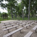 Amphitheater at Cherry Creek State Park Campground.- Cherry Creek State Park Campground