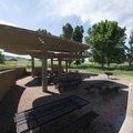 Fox Run group picnic area at Chatfield State Park.- Chatfield State Park