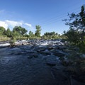 South Platte River at South Platte Park.- South Platte Park