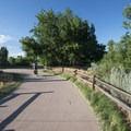 Mary Carter Greenway Trail, South Platte Park.- South Platte Park