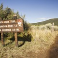 The Green Mountain Trailhead.- Green Mountain Trail + Exclamation Point