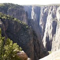 The Black Canyon of the Gunnison along the Green Mountain Trail.- Green Mountain Trail + Exclamation Point