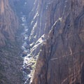 The view into the Black Canyon of the Gunnison from Exclamation Point along the Green Mountain Trail.- Green Mountain Trail + Exclamation Point