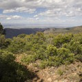 Long views of the country to the west of the Green Mountain summit.- Green Mountain Trail + Exclamation Point