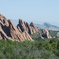 View north from Roxborough State Park.- Roxborough State Park + National Natural Landmark