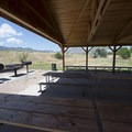 Pelican Point Picnic Shelter and Day Use Area at Bear Creek Lake Regional Park.- Bear Creek Lake Regional Park