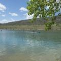 Big Soda Lake.- Big Soda Lake Swim Beach + Day Use Area