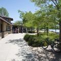 Stand-up paddleboard, canoe and kayak rentals at Big Soda Lake.- Big Soda Lake Swim Beach + Day Use Area