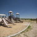 Playground at Indian Paintbrush Campground, Bear Creek Lake Regional Park.- Indian Paintbrush Campground