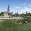 Thatcher Fountain at City Park, Denver.- City Park
