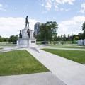 Martin Luther King Memorial at City Park, Denver.- City Park