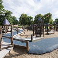 Playground at City Park.- City Park