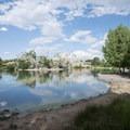 Duck Lake at City Park.- City Park
