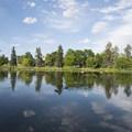 Ferril Lake, City Park, Denver.- City Park