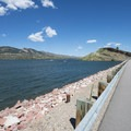 Horsetooth Reservoir along County Road 23.- Horsetooth Reservoir County Park