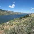 View north to Horsetooth Reservoir.- Horsetooth Reservoir County Park
