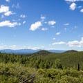 View from the power line road.- Paulina Creek Waterfalls Mountain Biking