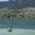 Paddlers on Horsetooth Reservoir at Sunrise Day Use Area.- Sunrise Day Use + Swimming Area