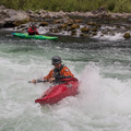 More surfing in the Niagara section of the North Santiam River.- North Santiam River: Niagara Section