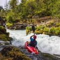 Running a common line down the left side of the Narrows.- North Santiam River: Niagara Section