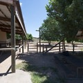 Old stables that are now the Corral Center Mountain Bike Park at Lory State Park.- Lory State Park