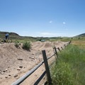 Corral Center Mountain Bike Park at Lory State Park.- Lory State Park