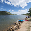 South Bay Day Use Area, Horsetooth Reservoir County Park.- South Bay Day Use Area + Swim Beach
