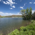 Inlet Bay Campground, Horsetooth Reservoir County Park.- Inlet Bay Campground