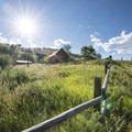 Historic homestead near the entrance to Soderberg Open Space.- Soderberg Open Space