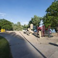 Playground at North Lake Park, Loveland.- North Lake Park