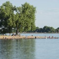 Lake Loveland Swim Beach, North Lake Park.- North Lake Park