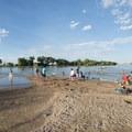 Boyd Lake Swim Beach, Boyd Lake State Park.- Boyd Lake Swim Beach
