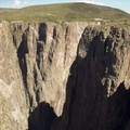 Long shadows encompass much of the Black Canyon of the Gunnison for almost the entire day.- South Rim Road
