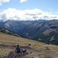 Grand Valley from Hurricane Ridge.- Grand Pass Loop