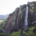 Bridal Veil Falls in low flow.- Bridal Veil Falls, Telluride