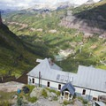 The Smuggler-Union Hydroelectric Power Plant above Bridal Veil Falls.- Bridal Veil Falls, Telluride